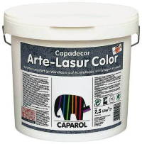 Caparol Capadecor ArteLasur Color інтер'єрна лазур 2.5 л