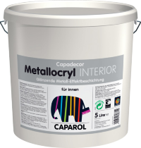 Caparol Capadecor Metallocryl INTERIOR фарба під метал 10 л