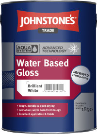 Johnstone's Water Based Gloss уінверсальна глянцева фарба 5л