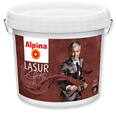 Alpina Lasur Effekt Base декоративна фарба 2.5л